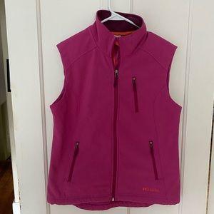 Double Diamond Women Active Wear Vest Pink M